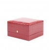 Crocodile synthetic leather box for fix bracelet