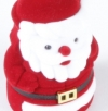 Ring box Santa Claus red