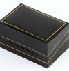 Classic synthetic leather box for wedding rings
