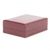 Classic synthetic leather box for chain/pendant